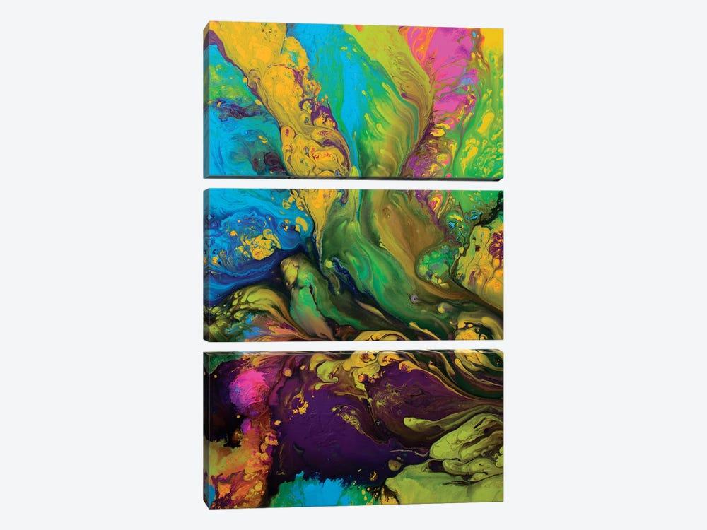 Rhapsody by Destiny Womack 3-piece Canvas Art Print