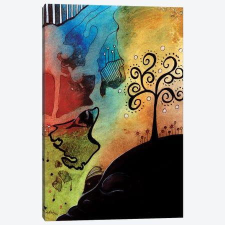 The Tree Canvas Print #DWO60} by Destiny Womack Canvas Artwork