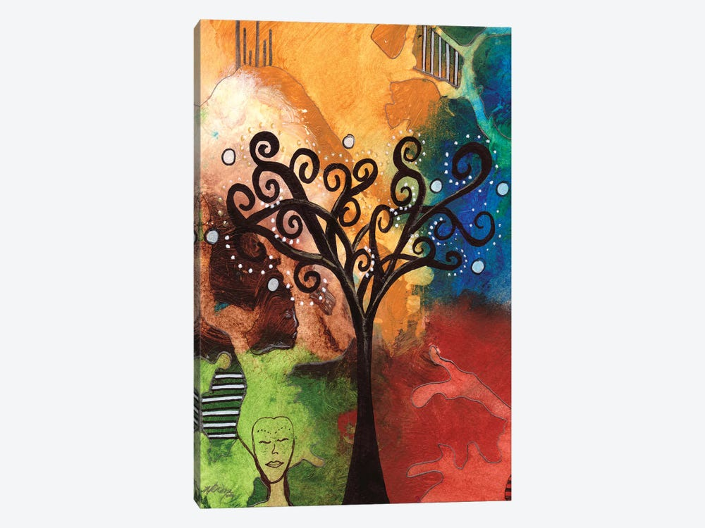 Tree Of Dreams by Destiny Womack 1-piece Canvas Art Print