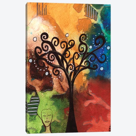 Tree Of Dreams Canvas Print #DWO62} by Destiny Womack Canvas Artwork