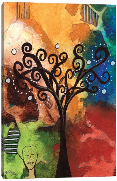 Tree Of Dreams Canvas Art Print