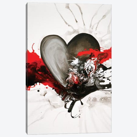 With Every Heartbeat Canvas Print #DWO69} by Destiny Womack Canvas Wall Art
