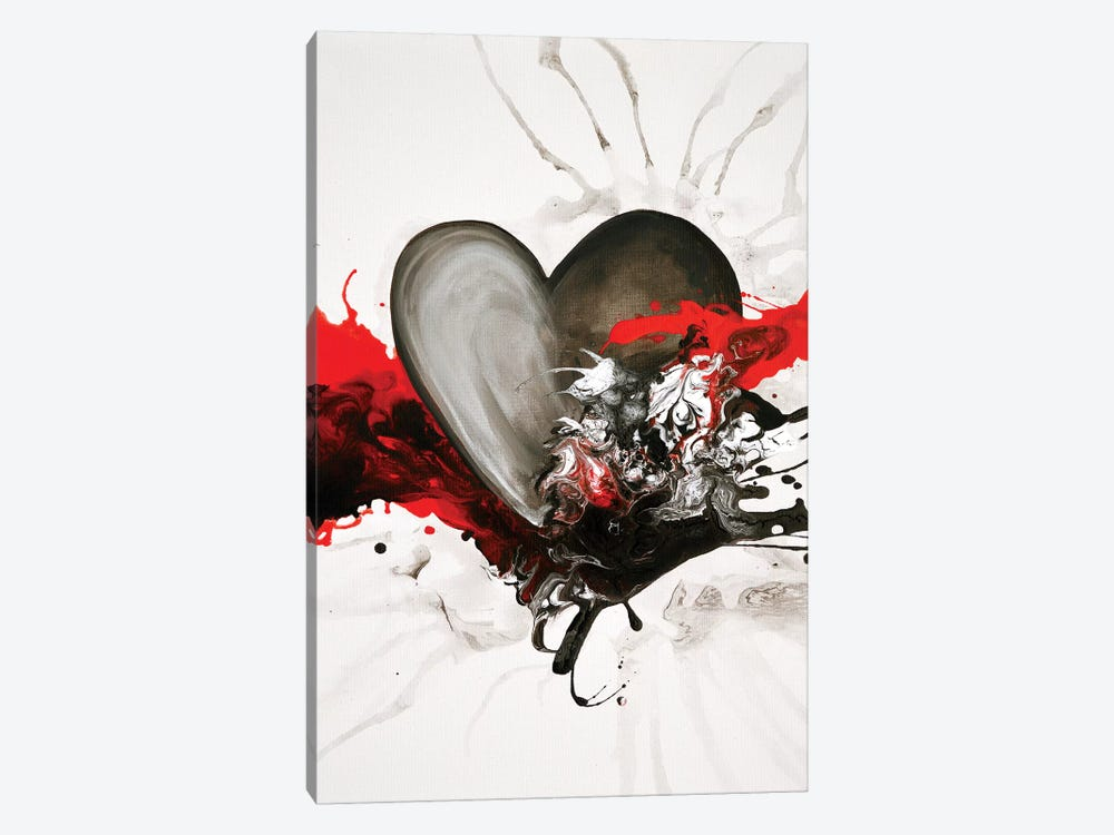 With Every Heartbeat 1-piece Canvas Artwork
