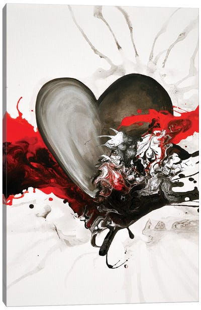 With Every Heartbeat Canvas Art Print