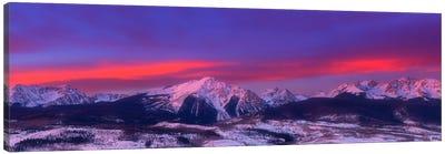 Gore Range Sunrise Canvas Art Print