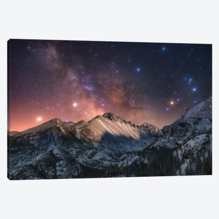 Magic in the Mountains Canvas Print #DWP141} by Darren White Photography Canvas Art Print