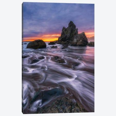 Oceanfront Ranch Canvas Print #DWP172} by Darren White Photography Canvas Art