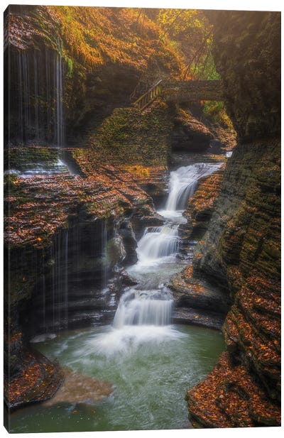 Rainbow Falls Canvas Art Print