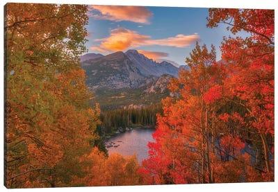 Autumn's Breath Canvas Art Print