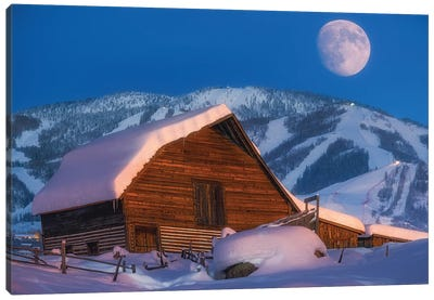 Steamboat Dreams Canvas Art Print