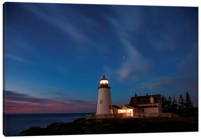 Pemaquid Dawn Canvas Art Print