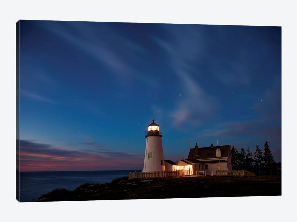 Pemaquid Dawn by Darren White Photography 1-piece Canvas Art Print