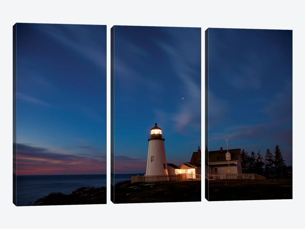 Pemaquid Dawn by Darren White Photography 3-piece Canvas Print