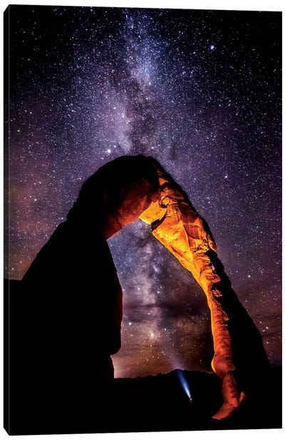 Milky Way Explorer (2013) Canvas Art Print