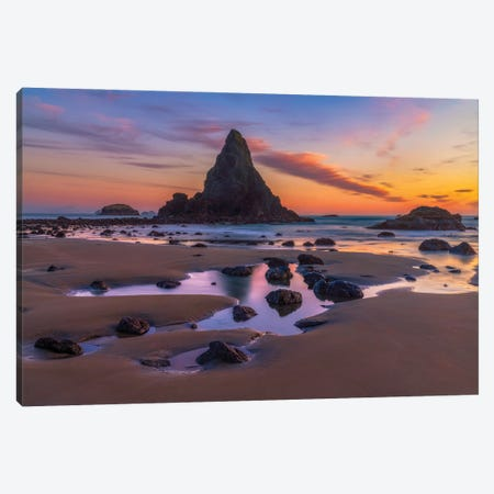 Days End Canvas Print #DWP65} by Darren White Photography Canvas Wall Art