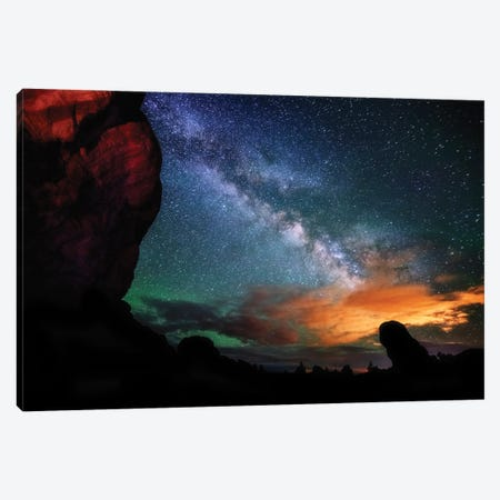 Double Arch View Canvas Print #DWP73} by Darren White Photography Canvas Wall Art