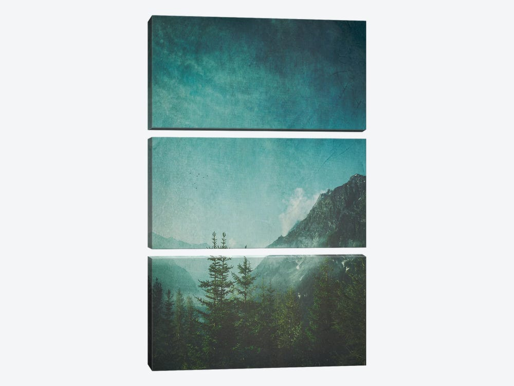 Valley View by Dirk Wuestenhagen 3-piece Canvas Print