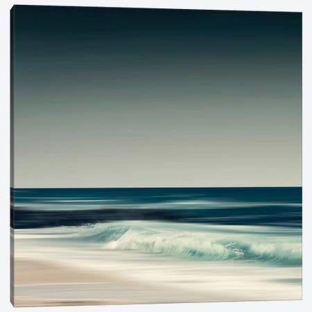 Crystal Surf Canvas Print #DWU2} by Dirk Wuestenhagen Canvas Art Print