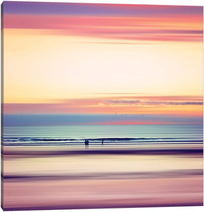 Pastel Horizons Canvas Art Print