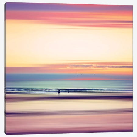 Pastel Horizons Canvas Print #DWU4} by Dirk Wuestenhagen Canvas Art