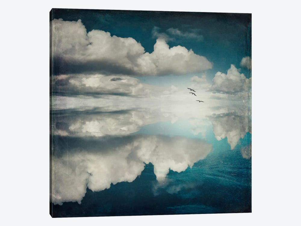 Spaces II - Sea Of Clouds by Dirk Wuestenhagen 1-piece Canvas Artwork