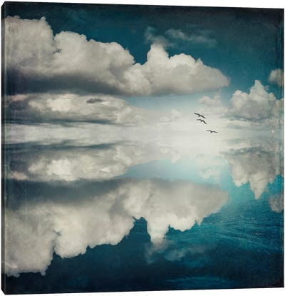 Spaces II - Sea Of Clouds Canvas Art Print