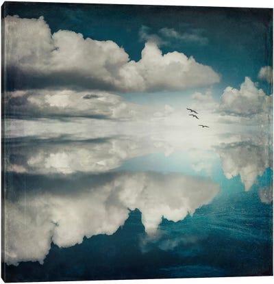 Spaces II - Sea Of Clouds Canvas Art Print