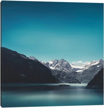 Turquoise Mountain Lake Canvas Art Print