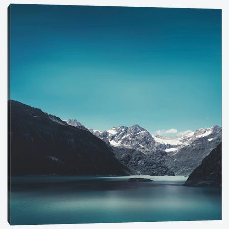 Turquoise Mountain Lake Canvas Print #DWU9} by Dirk Wuestenhagen Canvas Print