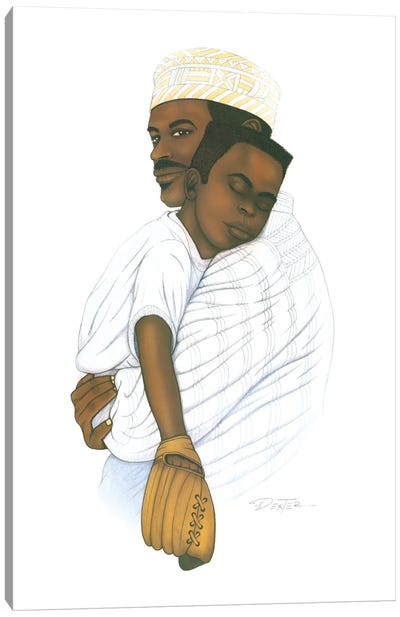 Father Love Canvas Art Print