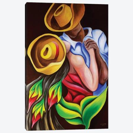 Dancing Canvas Print #DXM10} by Dixie Miguez Canvas Print