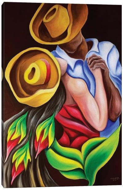 Dancing Canvas Art Print