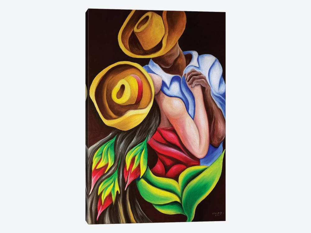Dancing by Dixie Miguez 1-piece Canvas Art