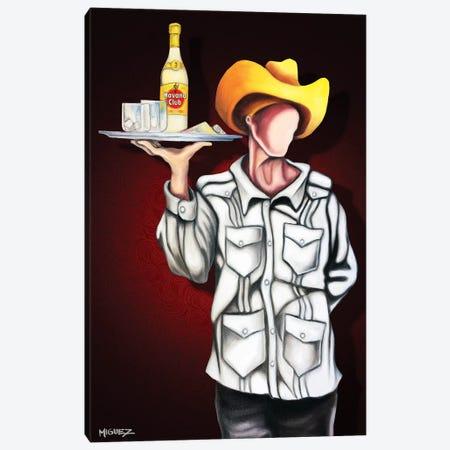Havana Club Canvas Print #DXM19} by Dixie Miguez Art Print