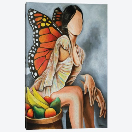 Libelula Canvas Print #DXM20} by Dixie Miguez Canvas Art