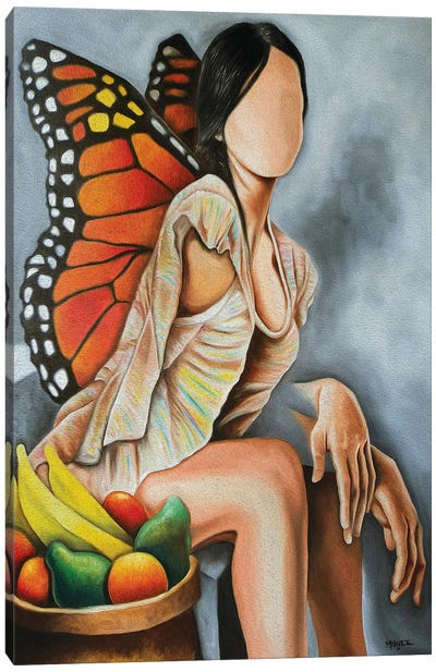 Libelula Canvas Art Print