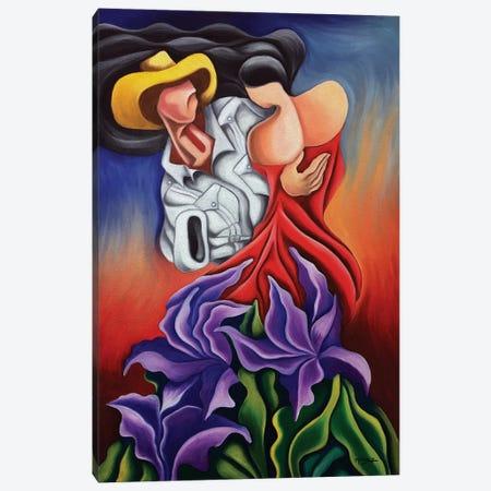 Love Dance Canvas Print #DXM21} by Dixie Miguez Canvas Art