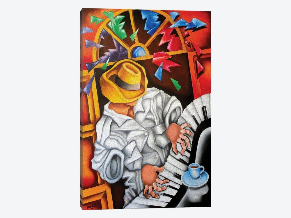 Piano Forte by Dixie Miguez 1-piece Canvas Print