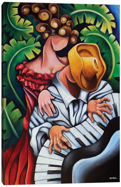 Piano Guajiro Canvas Art Print