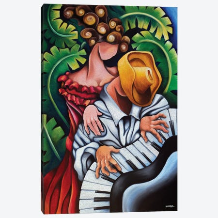 Piano Guajiro Canvas Print #DXM27} by Dixie Miguez Canvas Print