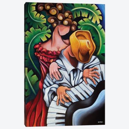 Piano Guajiro Canvas Print #DXM27} by Dixie Miguez Canvas Print