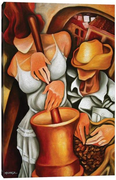Pilon Canvas Art Print