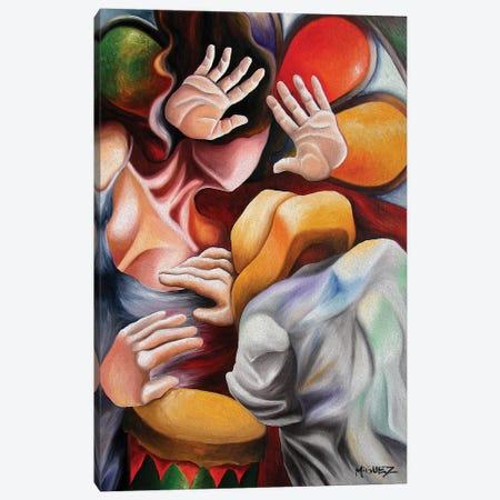 Rumba Canvas Print #DXM33} by Dixie Miguez Canvas Art Print