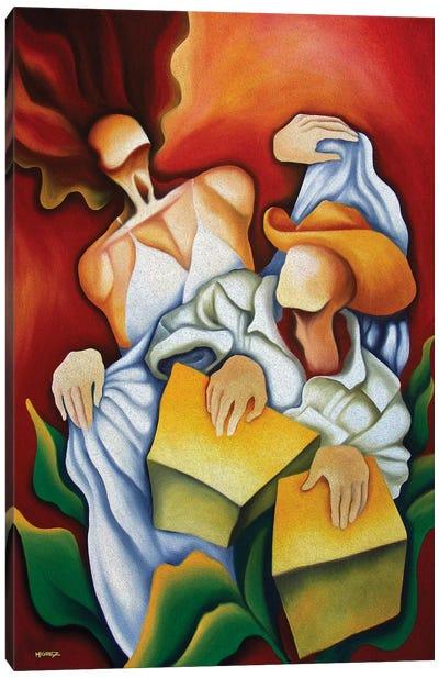 Rumba Cajon Canvas Art Print
