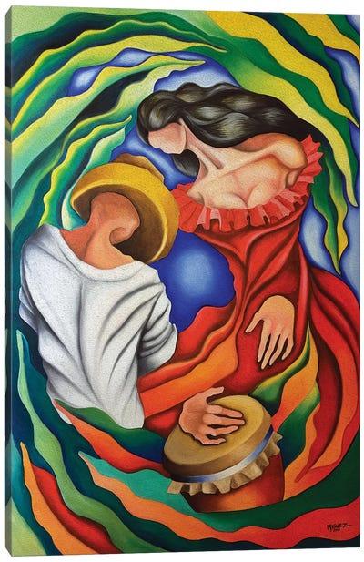 Rumba Guajira Canvas Art Print