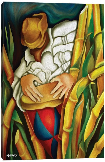 Rumba On Sugar Canes Canvas Art Print