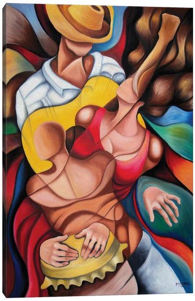 Bodies In Rumba Canvas Art Print