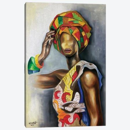 African Cuban Female Canvas Print #DXM51} by Dixie Miguez Canvas Print