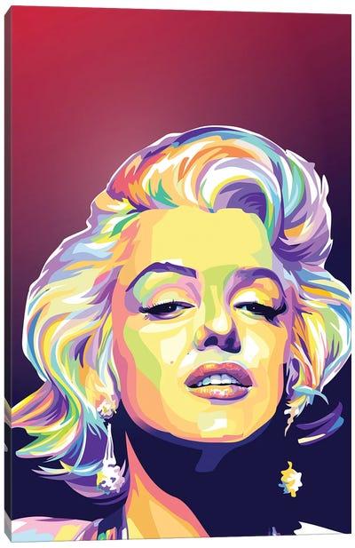 Beautiful Monroe Canvas Art Print