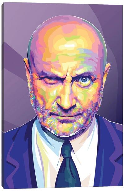 Phil Collins Canvas Art Print